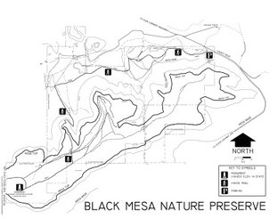 View Black Mesa Nature Preserve Map
