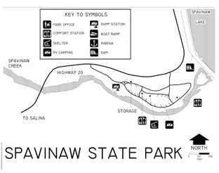 View Spavinaw State Park Map