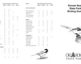Roman Nose Birding Guide