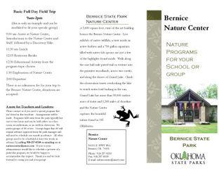 View Bernice Nature Programs