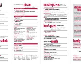 View Mazzio's Italian Eatery Menu