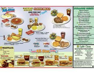 View Waffle House Classic Meals Menu