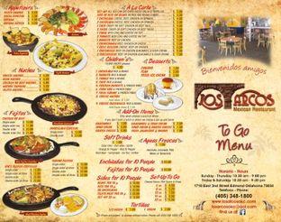 View Los Arcos Mexican Restaurant Menu