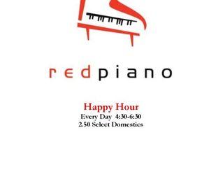 View Red Piano Lounge Menu