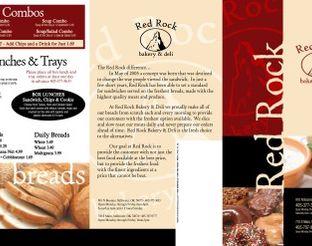View Red Rock Bakery & Deli Menu