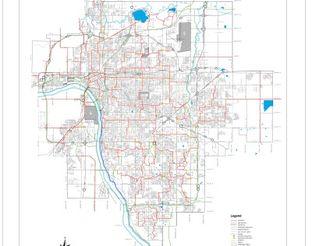 View Tulsa Trails & Bikeways Map