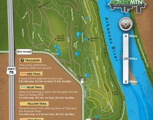 View Turkey Mountain Biking Trails Map