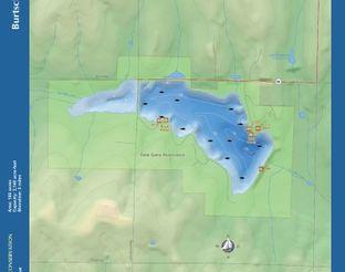 View Lake Burtschi Map