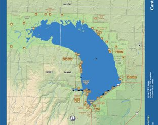 View Canton Lake Map