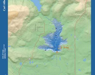 View Carl Albert Lake Map