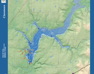View Claremore Lake Map