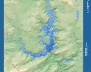 View Coalgate City Lake Map