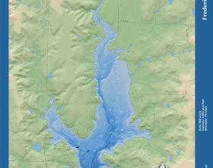 View Lake Frederick Map