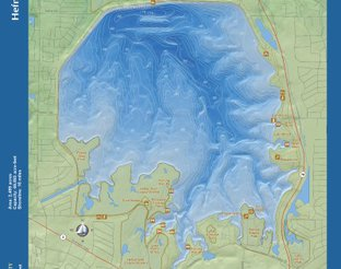 View Lake Hefner Map
