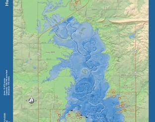 View Hugo Lake Map