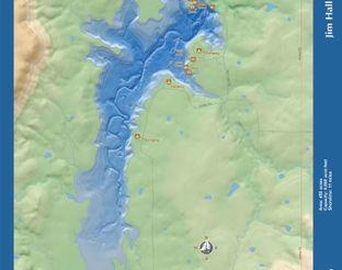 View Jim Hall Lake Map
