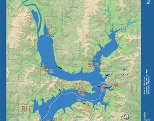 View Kaw Lake Map