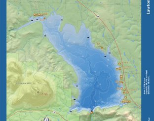 View Lake Lawtonka Map