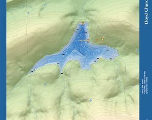 View LLoyd Church Lake Map