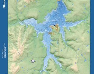 View Okemah Lake Map