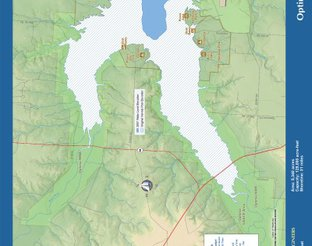 View Optima Lake Map