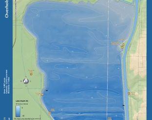 View Lake Overholser Map