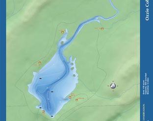 View Lake Ozzie Cobb Map