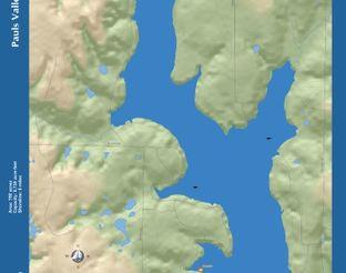 View Pauls Valley City Lake Map
