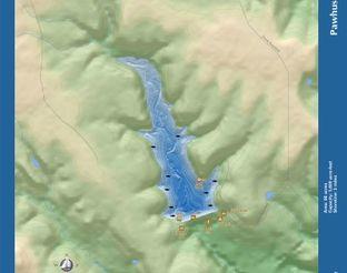 View Lake Pawhuska Map