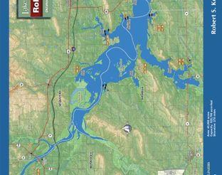 View Robert S. Kerr Reservoir Map