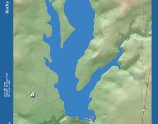 View Rocky Lake Map