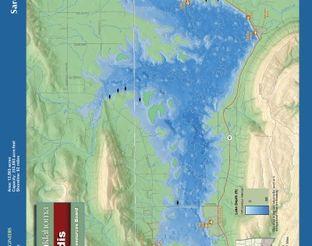View Sardis Lake Map