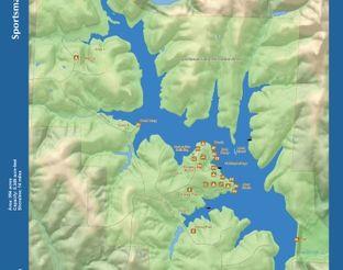 View Sportsman Lake Map