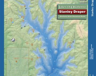 View Lake Stanley Draper Map