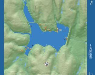 View Lake J.W. Taylor Map