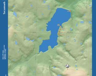 View Tecumseh Lake Map