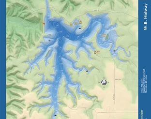 View W. R. Holway Reservoir