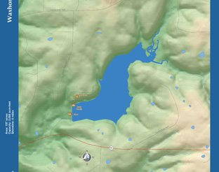 View Lake Waxhoma Map