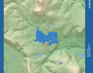 View Weleetka Lake Map