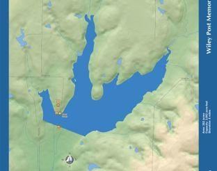 View Wiley Post Memorial Lake Map