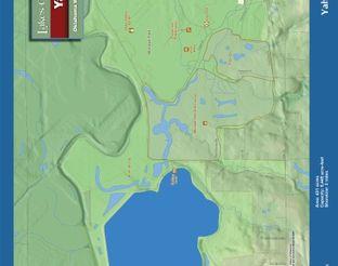 View Lake Yahola Map
