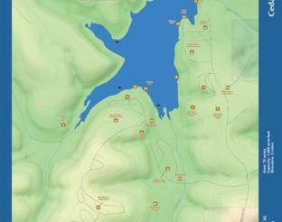 View Cedar Lake Map