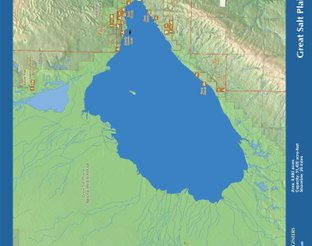 View Great Salt Plains Lake Map