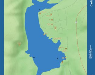 View Lake Carlton Map