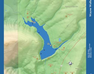 View Lake Wayne Wallace Map