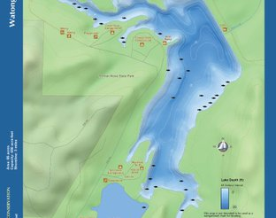 View Lake Watonga Map