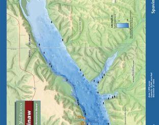 View Spavinaw Lake Map