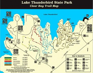 View Clear Bay Recreation Area Trail Map