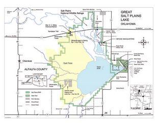 View Salt Plains National Wildlife Refuge Map