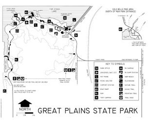 View Great Plains State Park Map